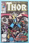 Click here to enlarge image and see more about item 6195: Mighty Thor Comics - Sept 1989 - Living Bio-Verse