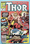 Click here to enlarge image and see more about item 6200: Mighty Thor Comics - March 1988 - Thunder Fails