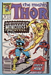 Click here to enlarge image and see more about item 6202: Mighty Thor Comics - May 1988 - Mongoose