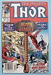 Click here to enlarge image and see more about item 6203: Mighty Thor Comics - July 1988 - Blaze Of Battle