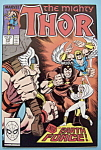 Click here to enlarge image and see more about item 6205: Mighty Thor Comics - September 1988 - Earth Force