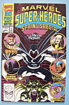 Click here to enlarge image and see more about item 6263: Super - Heroes Comics - May 1990 - Old Business