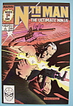 Nth Man The Ultimate Ninja Comics - August 1989