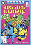 Justice League Comics - 1987 Annual - Germ Warfare