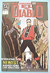 El Diablo Comics - Aug 1989 - Devil On The Street