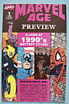 Marvel Age Preview - June 1990 - 1990's Hottest Titles