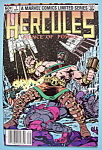 Click here to enlarge image and see more about item 6409: Hercules Comics-Sept 1982-What Fools These Immortals Be