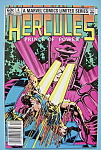 Click here to enlarge image and see more about item 6412: Hercules Comics - December 1982 - Not Just Another..