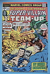 Click here to enlarge image and see more about item 6423: Super Villian Team - Up - April 1976 - And Be A Villian