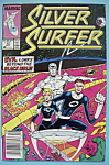 Click here to enlarge image and see more about item 6427: Silver Surfer Comics - Sept 1988 - Three Into Nothing..