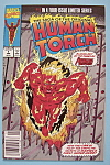 Click here to enlarge image and see more about item 6532: Human Torch Comics - April 1990 - Lighted Torch