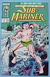 Click here to enlarge image and see more about item 6534: Sub - Mariner Comics - Nov 1988 - A Legend A-Borning