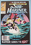 Click here to enlarge image and see more about item 6537: Sub - Mariner Comics - Jan 1989 - A Prince In New York