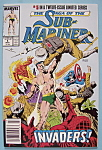 Click here to enlarge image and see more about item 6538: Sub - Mariner Comics - March 1989 - Invaders