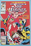 Click here to enlarge image and see more about item 6542: Sub - Mariner Comics - July 1989 - Rendezvous with...