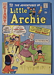 Click here to enlarge image and see more about item 6578: Little Archie Comics - 1967 - Cheers For The Team