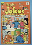 Click here to enlarge image and see more about item 6579: Reggie's Jokes Comics - December 1968 - Romantic Antic
