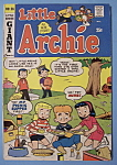 Click here to enlarge image and see more about item 6596: Little Archie Comics - November 1969 - Talent Fight
