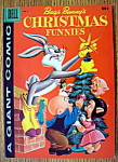 Click to view larger image of Bugs Bunny's Christmas Funnies Comic #8-1957 (Image1)