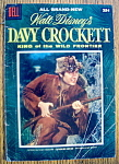 Click here to enlarge image and see more about item 6632: Walt Disney's Davy Crockett Comic #1-1955