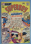 Click here to enlarge image and see more about item 6633: Superboy Comics - May/June 1970 - Red Letter Days
