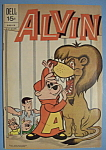 Click here to enlarge image and see more about item 6644: Alvin The Chipmunk Comics - October 1971