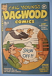 Click here to enlarge image and see more about item 6659: Dagwood Comics - May 1951 - Unhappy Landing