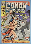 Click here to enlarge image and see more about item 6660: Conan The Barbarian -Feb 1971- Grim Grey God