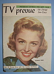 Click here to enlarge image and see more about item 6665: TV Prevue - Sept 14-20, 1958 - Donna Reed