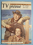 Click here to enlarge image and see more about item 6674: TV Prevue - Dec 1-7, 1957 - Ward Bond & Robert Horton