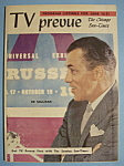 Click here to enlarge image and see more about item 6676: TV Prevue - June 15-21, 1958 - Ed Sullivan