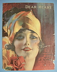 Click to view larger image of Sheet Music For 1919 Dear Heart (Image1)