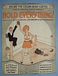 Sheet Music For 1928 Hold Everything
