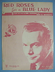 Sheet Music/1948 Red Roses For A Blue Lady-B. Kaempfert