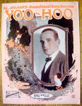 Sheet Music For 1921 Al Jolson's Yoo-Hoo