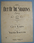 Sheet Music For 1921 Out Of The Shadows