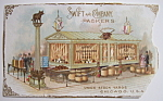 1893 Columbian Exposition Swift & Co. Trade Card