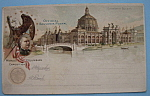 1893 Columbian Expo Government Building Postcard