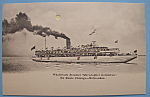 Click to view larger image of 1893 Columbian Expo Whaleback Steamer Postcard (Image1)