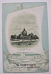 1893 Columbian Exposition Heissler & Junge Trade Card