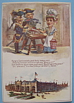 Click here to enlarge image and see more about item 6895: Hungry Continentals (1893 Columbian Expo Trade Card)