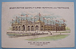 1893 Columbian Exposition Bradycrotine Mfg Trade Card