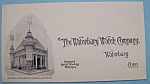 1893 Columbian Expo Waterbury Watch Co Trade Card
