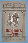 Click here to enlarge image and see more about item 7001: 1907 Old Home Week Postcard (The Rhode Island News Co)