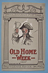 Click here to enlarge image and see more about item 7003: 1907 Old Home Week Postcard-(Providence, Rhode Island)