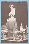 Click here to enlarge image and see more about item 7010: Fountain of Energy Postcard (Panama Pac Int Expo)