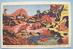 Click to view larger image of Sinclair Earth Exhibit Postcard (Century Of Progress) (Image1)