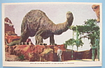Click to view larger image of Postcard of Sinclair Dinosaur Exhibit (Chicago Fair) (Image1)