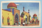 Click to view larger image of Oriental Village Postcard (Chicago World's Fair) (Image1)
