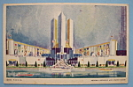 Federal Building & States Group Postcard (Chicago Fair)